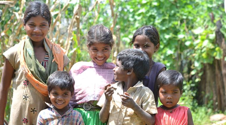 The push for millet revival assumes significance as Madhya Pradesh fares poorly when it comes to child nutrition access. (Express Photo: Sajin Saju)