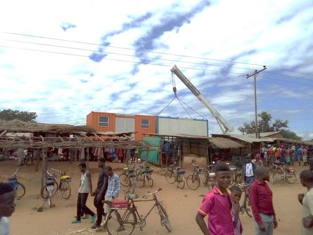 Goat butchery cold rooms established with Phalula butchers Photo: Temwa Mvula