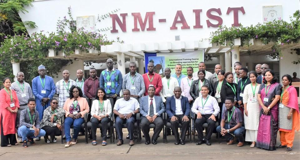 Participants at the workshop. Photo: ICRISAT