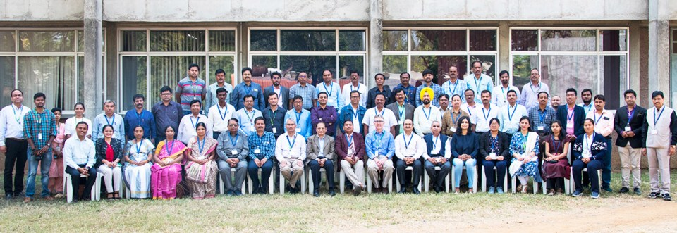 Participants of the workshop at ICRISAT, Hyderabad. Photo: S Punna, ICRISAT