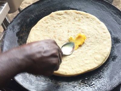 A chapati could get out of reach for people who fall short in income in response to their sudden inability to walk to work. Photo: Michael Hauser