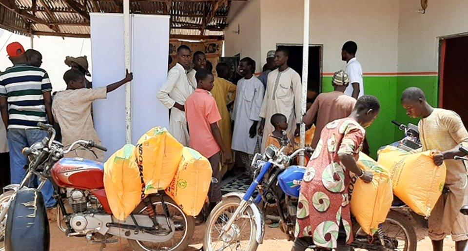 File photo of an input supply store. Photo: T Azakere, SFSA-Nigeria