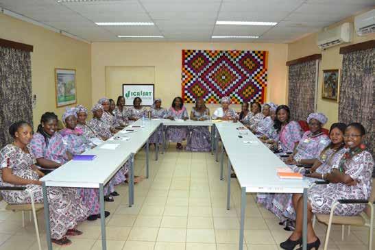 Participants at the Women's Forum launch at Mali. Photo: A Diama, ICRISAT