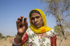 Women leader  Rameshwari Devi Rajasthan India