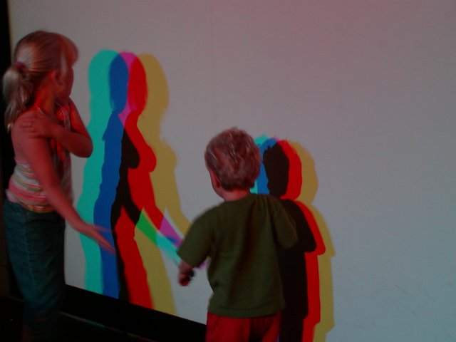 Colored Shadow Wall