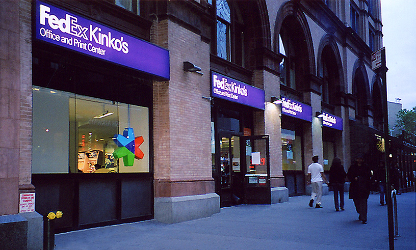 retail construction renovation fedex
