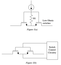 high current switch matrix topologies require the use of low ohmic d mos switches the desire to have fast switching times small time constant  [ 883 x 959 Pixel ]