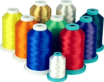 Mixed-thread lot for Embroidery