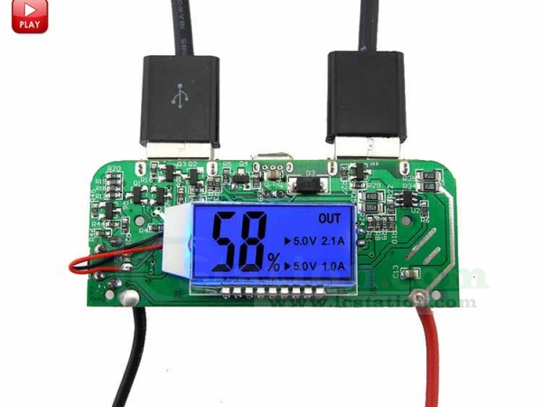 Install 18650 Charger Battery Indicator Charging Circuit Boards Diy
