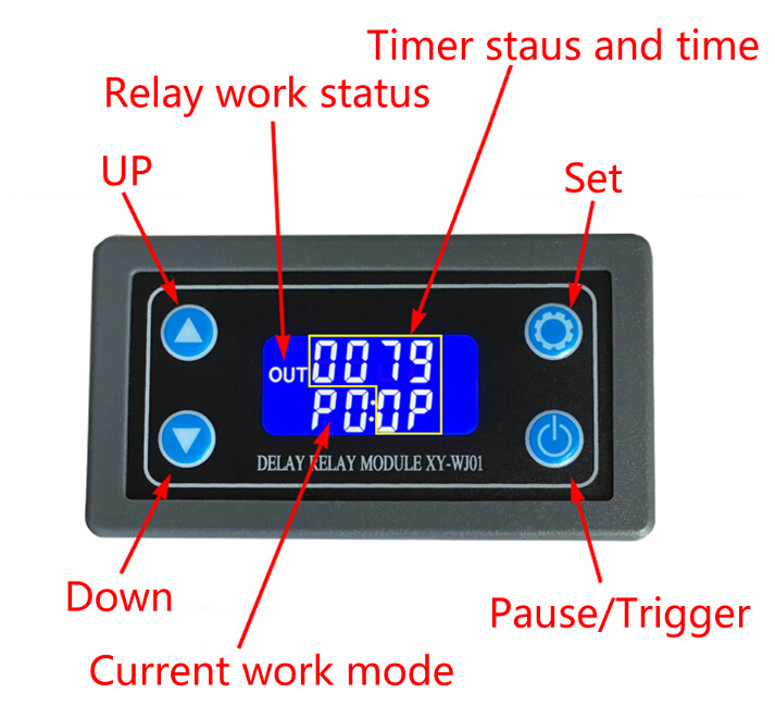 Handy Time Delay With Relay Output Circuit And Explanation