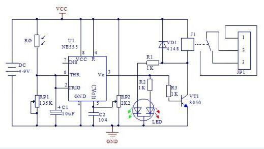 DIY Kits Photoelectric Multi-function Light Control