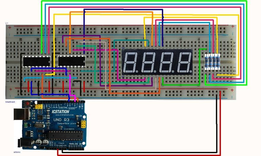 How To Build Led Display Digital Voltmeter Circuit Diagram