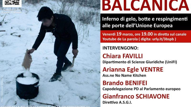 Rotta balcanica: inferno di gelo, botte e respingimenti – evento youtube