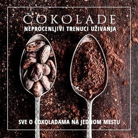 Sve o čokoladama