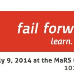 Please RSVP Now for Fail Forward 2014