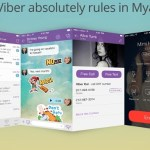 Wow! Viber Beats Facebook in Myanmar