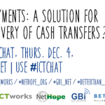 Twitter Chat TODAY #ICTchat – Digital Payments in Developing Countries