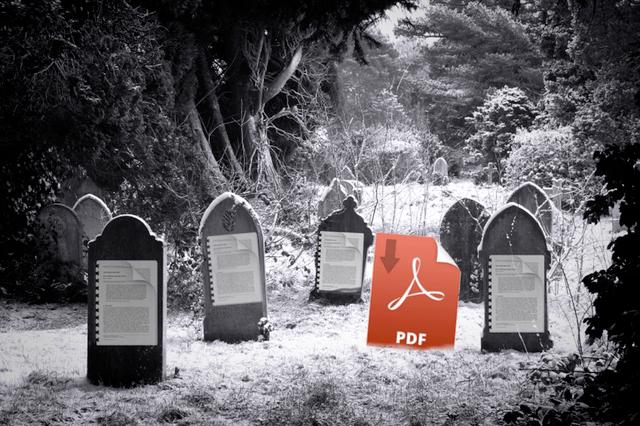 Academic Publications PDF Graveyards