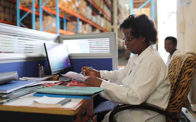 supply chain technology ghana