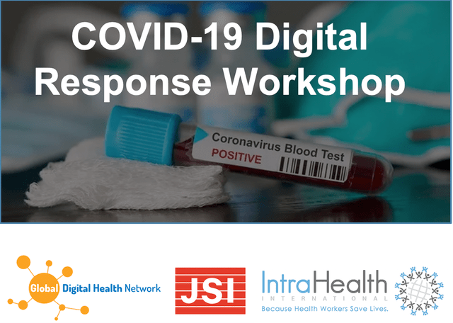 covid digital health workshop
