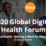 Please Virtually Join Us: 2020 Global Digital Health Forum