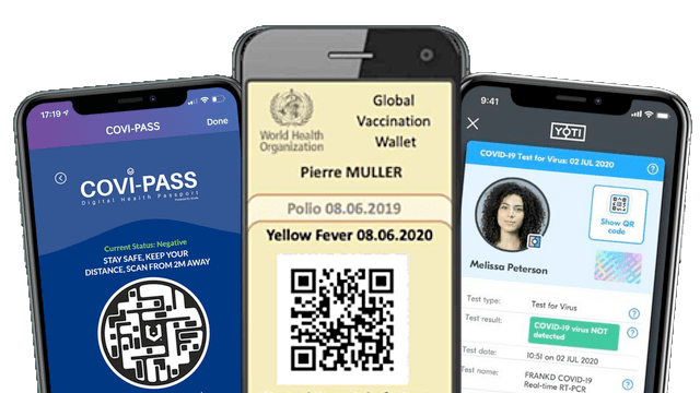 digital yellow card covax certificate