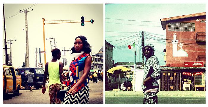 Street style in Yaba
