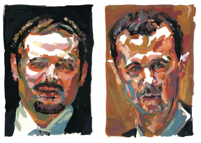 Saad and Bashar.