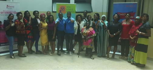 "Participants at the ""Wiki Loves Women"" workshop held in Abuja."