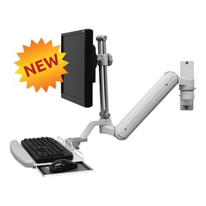 chair mount keyboard tray canada stool drawing icw ergonomic dental computer monitor mounts ultra 182 sit stand