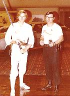 """My second convention, 1979 Phoenix Az. And my first costume, I was doing the 50's German made """"Glash Gordan"""" TV show. Raygun was a hit."""