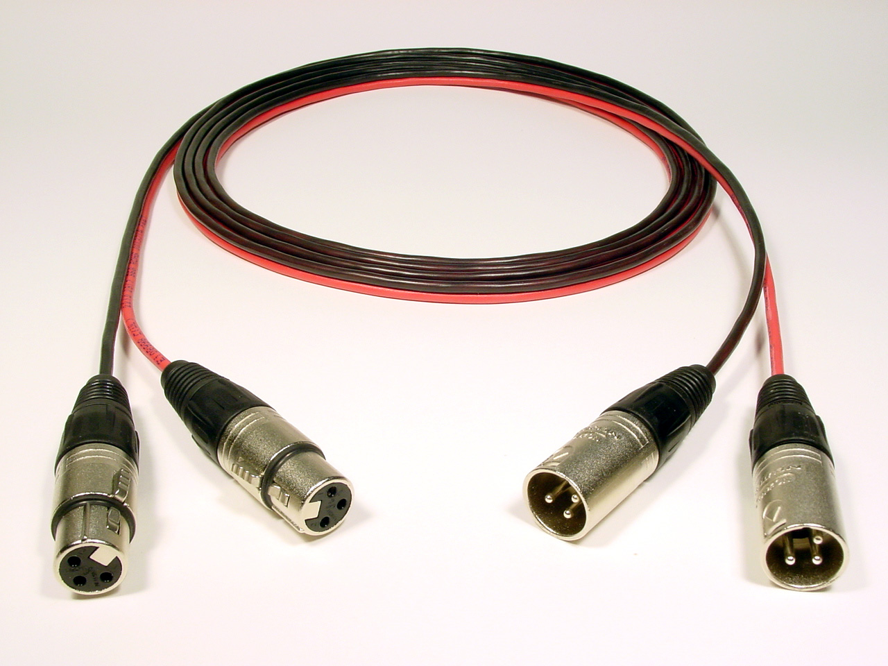 hight resolution of 2 channel female xlr to male xlr immaculate connections studio wiring specialists