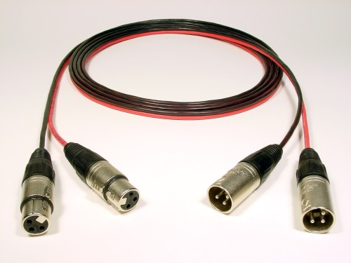 small resolution of 2 channel female xlr to male xlr immaculate connections studio wiring specialists