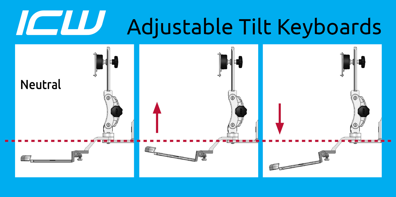 hight resolution of ergonomic keyboard tilt diagram