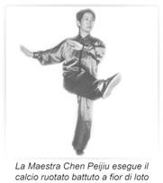 I calci nel Taijiquan stile Chen Xiaoja