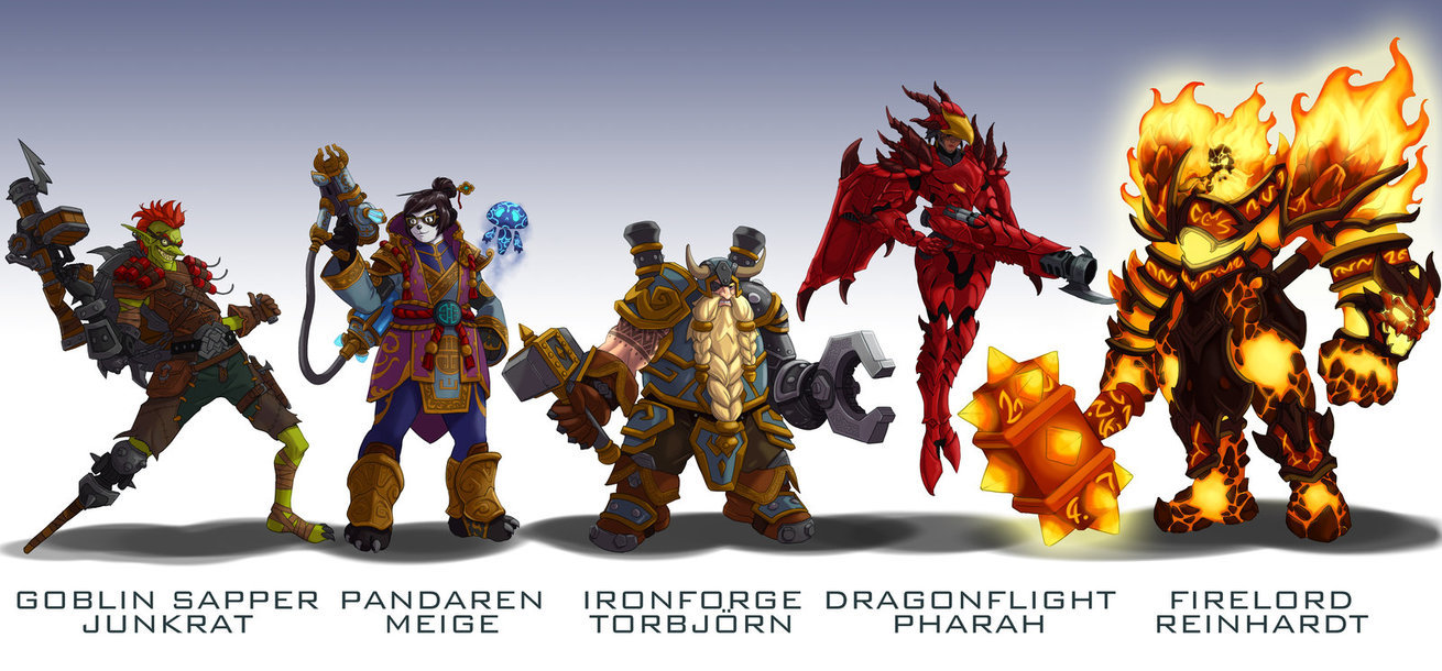 Amazing WoW Fan Skins For Overwatch News Icy Veins Forums