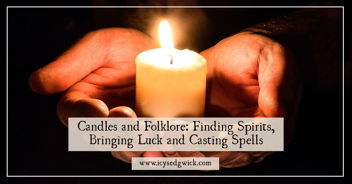 candles and folklore bringing luck and