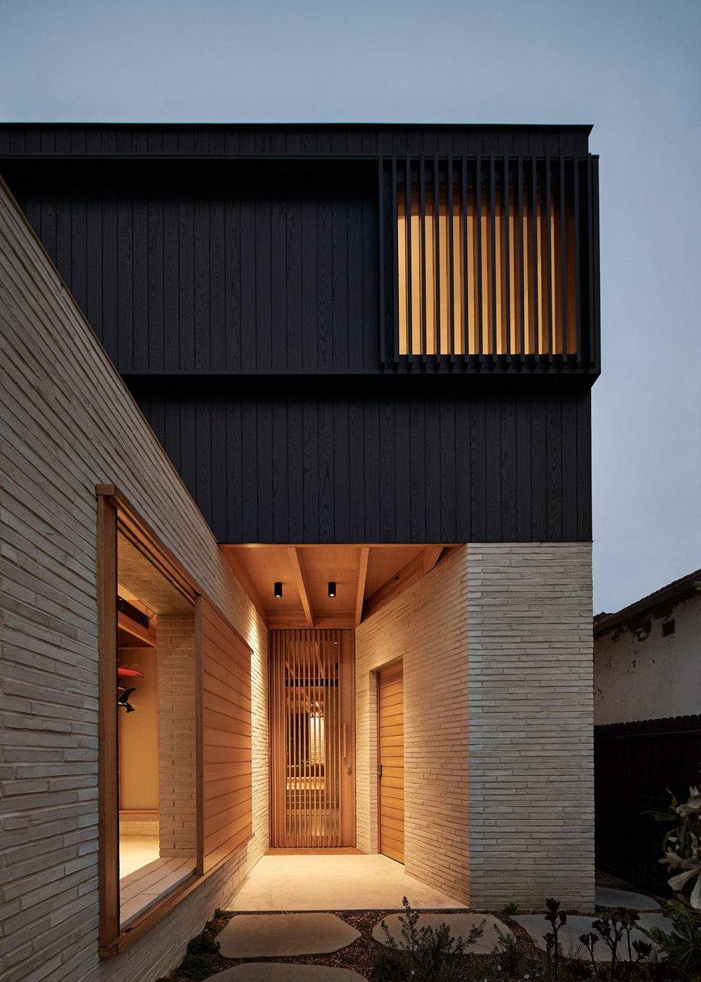 Id Arquitectos Brick House Andrew Burges Architects Wiring In Wall Led Lighting Used Throughout For Provision Of Future Solar Panels On Roof Rainwater Capture And Re Use Toilets Water Irrigation