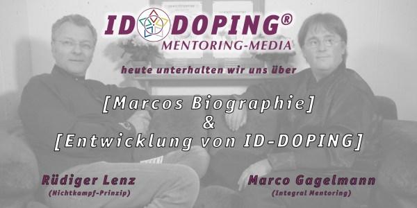 SOFA-GESPRÄCH: Biographie von Marco - Entwicklung von ID-DOPING
