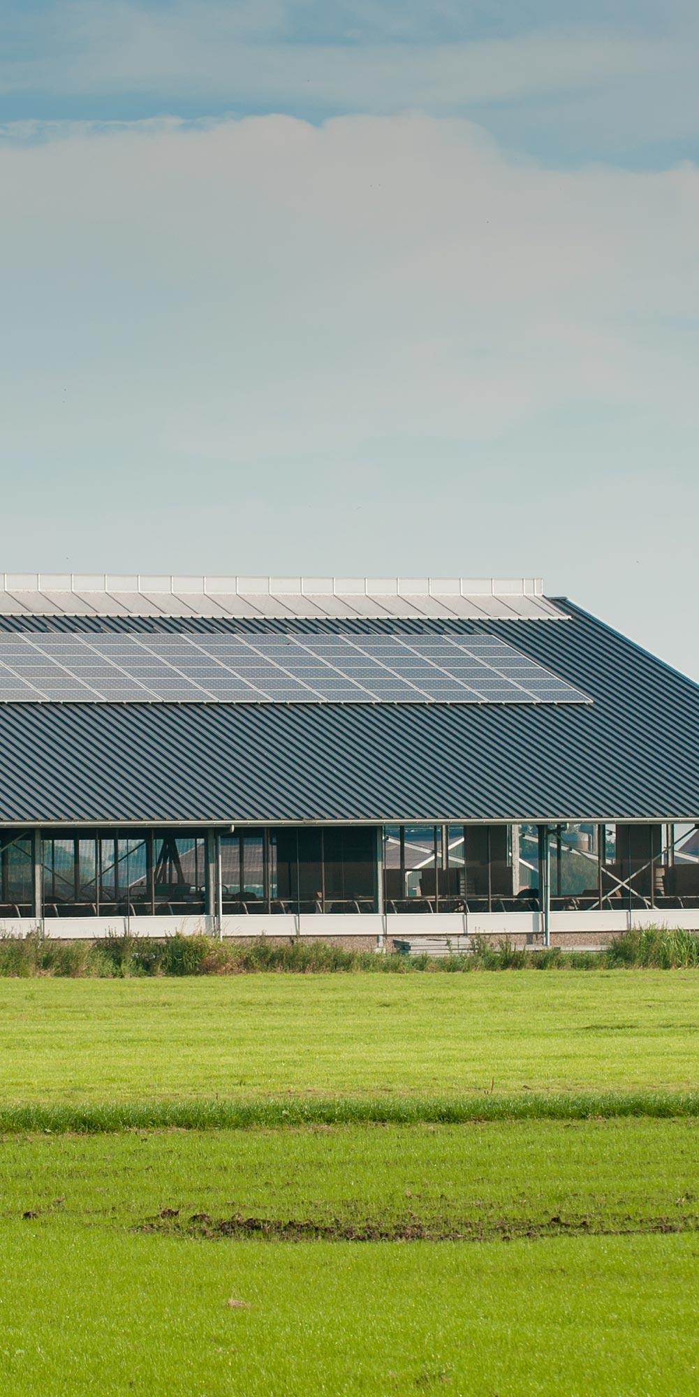 installation panneau solaire sur terrain agricole