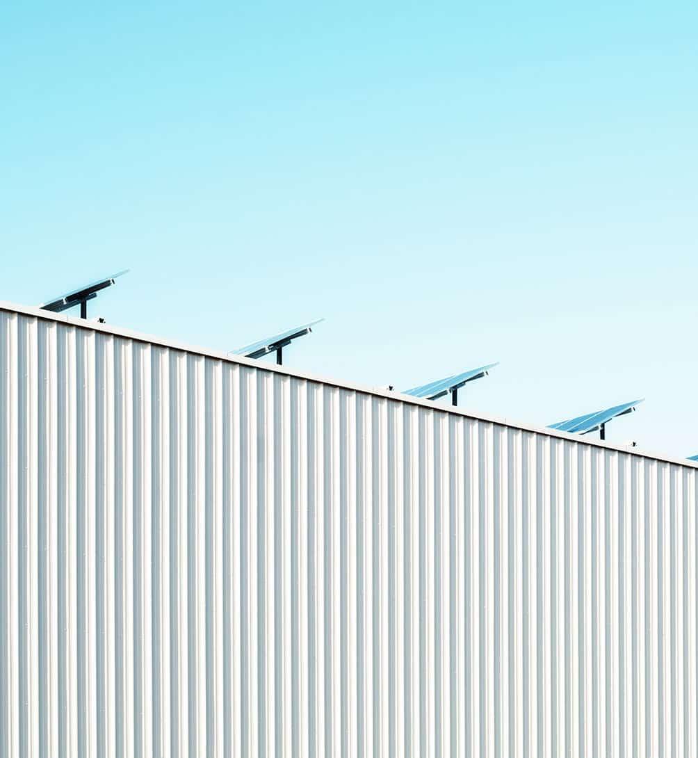 Panneaux solaires pour les centres commerciaux