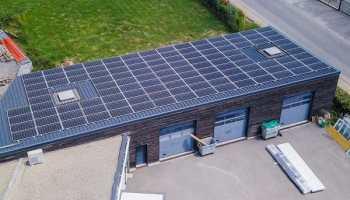 panneaux solaires pour les bâtiments industriels