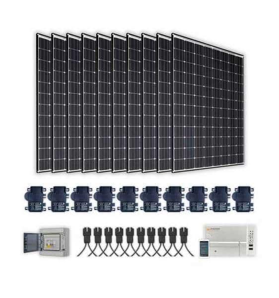 kit panneaux solaires 6kW autoconsommation