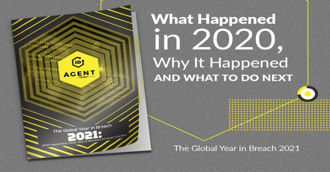 global year in breach depicted as a printed report.