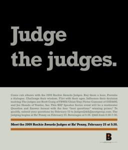 Judge the Judges - BAF Event
