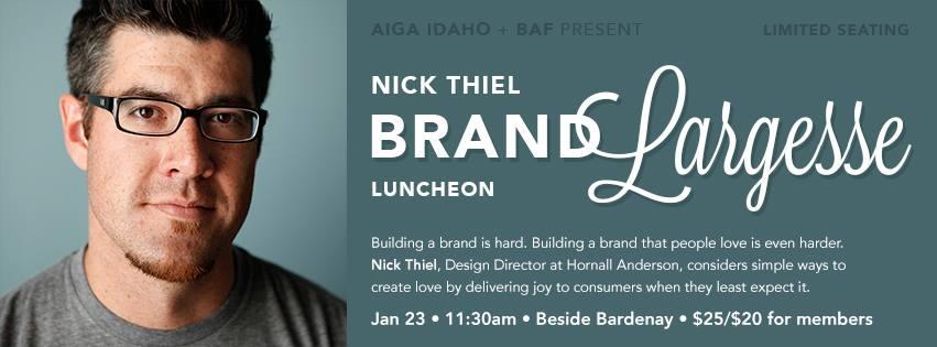 AIGA-BAF Luncheon - Nick Thiel