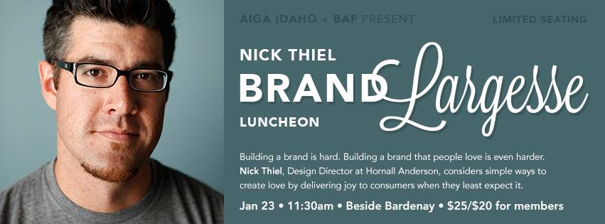 AIGA-BAF Luncheon - Nick Thiel