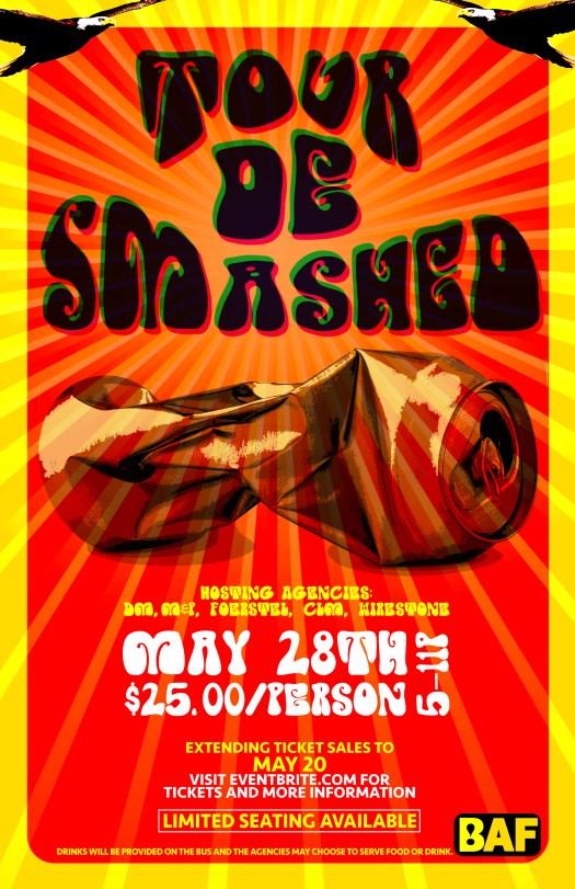 Tour De Smashed 2015