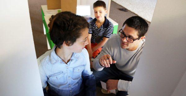 Young Entrepreneur Creates -traditional School