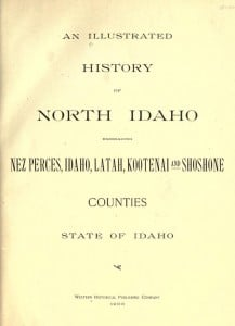 illustrated history of northern idaho